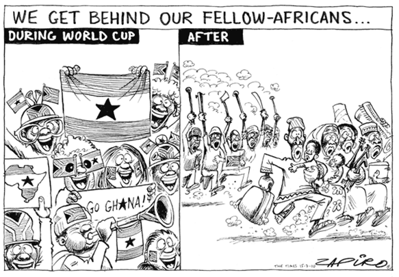 cartoon-on-growing-nationalism-and-xenophobia-in-Sub-Saharan-Africa-Go-Fellow-Africans