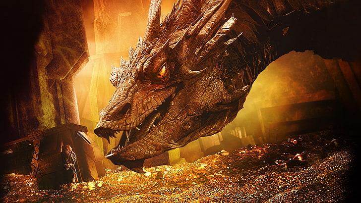 bilbo-baggins-dragon-gold-smaug-wallpaper-preview