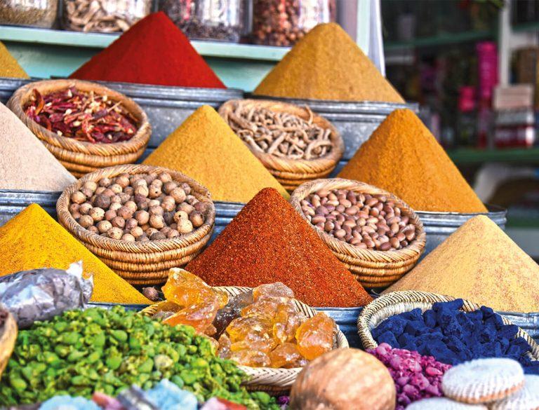 Marrakesh-Morocco-Spices-Street-Market-Stall_News-768x585